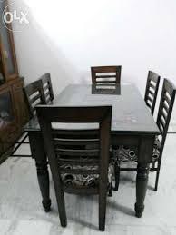 6 Seater Teak Wood Dining Table
