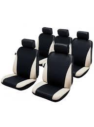 housse siege auto monospace housse siège auto universelle pour monospace 5 places noir et beige