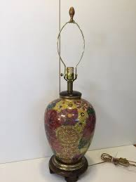 Frederick Cooper Antique Table Lamps by Vintage Frederick Cooper Hollywood Regency Porcelain Flowers Table