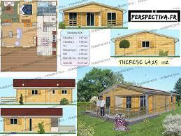 plans de maisons gratuits et modèles de maisons bois chalets en