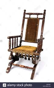 Antique Rocking Chair Stock Photos & Antique Rocking Chair Stock ... Antique Wood Rocking Chair Carved Griffin Lion Dragon For 98 Restoring Craftsman Style Oak Youtube Georgian Childs Elm Windsor C 1800 United Vintage Teakwood Rocking Chair Antiques Fniture On Carousell Wrought Iron Leather Marylebone Stock Photos William Iv Mahogany Sold Chairs From The 1800s Collectors Weekly Antique Platform Chairs Classic Wikipedia