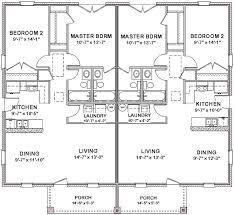 8 Bedroom Duplex Floor Plans