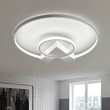 henley led deckenleuchte modern 38w led len zwei ring deckenbeleuchtung deckenstrahler wohnzimmer schlafzimmer kreativ le acryl weiß deckenle