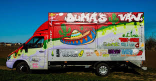 100 Mexican Truck DUMAS VAN Food Artwork Project The Dots