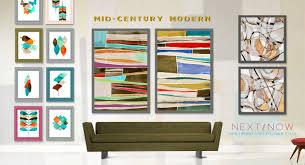 100 Mid Century Modern Canada Product Categories PI Creative Art