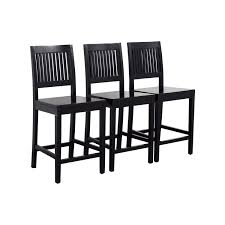 Crate And Barrel Dining Table Chairs by 56 Off Crate U0026 Barrel Crate U0026 Barrel Counter Height Dining