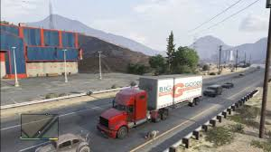 GTA 5 TRAILER TRUCK TERROR HIGH WAY - YouTube