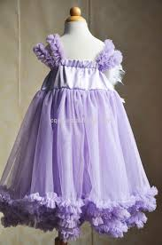 purple tulle party dress with feather head band cinderella dresses
