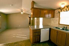 Mobile Home Decorating Ideas Single Wide by Single Wide Mobile Home Interiors Looking From The Kitchen Into