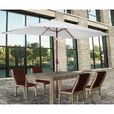 Ebay Patio Table Umbrella by 2x3m Rectangle Garden Parasol Umbrella Patio Sun Shade Aluminium