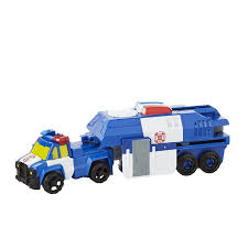 Transformers | Rescue Bots Capture Claw Chase