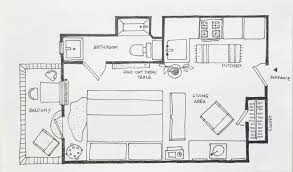 100 Tiny Apartment Layout 5 Ways To Lay Out A Studio Therapy