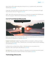 100 Budget Truck Coupon PPT Teacher Discount Guide PowerPoint Presentation Free