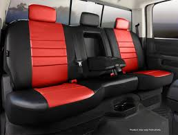 LeatherLite Custom Seat Cover, Fia, SL67-31RED | Titan Truck ...