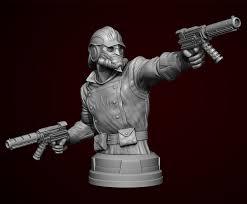 Joe Mennas Guardians Of The Galaxy Star Lord 3D Sculpture