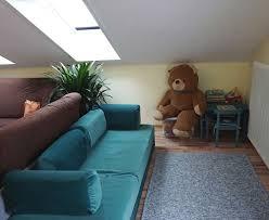 das wohnzimmer der fewo horn