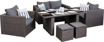 patio sofa dining set outdoor dining sofa sets pacific 2 seater sofa set segals