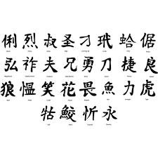 Element In Japanese Kanji