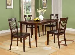 20 Cherry Wood Dining Room Table Sets Stylish D6660 Series 5 Pc Set
