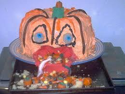 Puking Pumpkin Guacamole by 100 Halloween Pumpkin Throwing Up Weathered Plastic Pumpkin