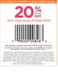 Ulta Beauty Coupon: 20% Off Any One Qualifying Item, Ends 10 ... Ulta Free Shipping On Any Order Today Only 11 15 Tips And Tricks For Saving Money At Business Best 24 Coupons Mall Discounts Your Favorite Retailers Ulta Beauty Coupon Promo Codes November 2019 20 Off Off Your First Amazon Prime Now If You Use A Discover Card Enter The Code Discover20 West Elm Entire Purchase Slickdealsnet 10 Of 40 Haircare Code 747595 Get Coupon Promo Codes Deals Finders This Weekend Instore Printable In Store Retail Grocery 2018 Black Friday Ad Sales Purina Indoor Cat Food Vomiting Usa Swimming Store