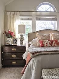 Pottery Barn Seagrass Headboard Craigslist by Bed In Front Of Windows Clean Light Feel Bedroom Bedrooms