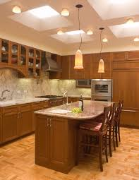 kitchen ceiling lights with two tone cabinets dining room