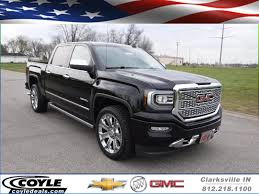 New 2017 GMC Sierra 1500 Denali Crew Cab Pickup In Clarksville ... 2018 New Gmc Sierra 2500hd 4wd Crew Cab Standard Box Slt At Banks 2017 1500 Regular 1190 Sle 2 Door Pickup Teases Duramax With Photos Of Hood Scoop 2016 Hd Ups The Ante With Set Improvements Reviews And Rating Motor Trend Find A 2014 In S Florida Sheehan Buick For Sale Ft Pierce Fl Garber Canyon Denali Truck Review Dealer Reading Pa Hendrick Cary Is Raleigh Dealer New Used For Sale Pricing Features Edmunds