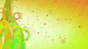Particles Lines Orange Green Loop Background Stock Animation