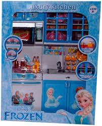Dora The Explorer Kitchen Set India by Toytree Frozen Blue Kitchen Set 2 Compartments Windows And Doors