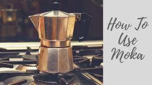 How To Brew Coffee Using A Moka Pot