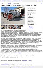 Craigslist Crapshoot | Hooniverse Craigslist Crapshoot Hooniverse Tri Axle Dump Trucks For Sale By Owner And Truck Accident Pladelphia Cars Best Car Scam List For 102014 Vehicle Scams Google 102617 Auto Cnection Magazine By Issuu Troubleshooters Beware When Buying Online 6abccom Used And 1920 New Update Youtube