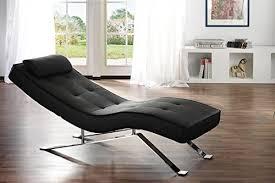relax liege schwarz lounge sofa leder design moebel