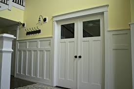 Image result for craftsman style windows with wainscoting