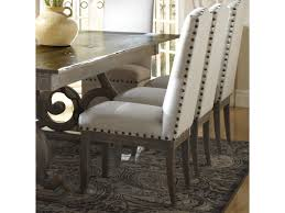 Upholstered Dining Chairs With Nailheads by Canadel Champlain Custom Dining Customizable Upholstered Side