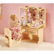 sister s bedroom set calico critters international playthings