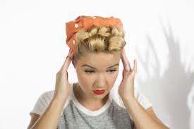 Rosie The Riveter Spirit Halloween by How To Make Pin Curls Like Rosie The Riveter Home Improvement