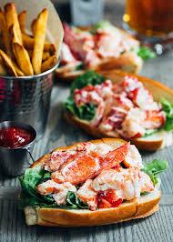 100 Cousins Maine Lobster Truck Menu Rolls Salad Rolls Striped Spatula