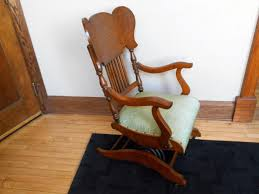 Antique Oak A.F. SCHRAM? Convolute Coil Spring Rocking Chair ... 1800s Victorian Walnut Red Velvet Solid Spring Rocking Leisure Made Pearson Antique White Wicker Outdoor Chair With Tan Cushions 2pack Spring Rocker Custom Cushions Daves Fniture Specific Rock On Loaded Restoration The Oldest Ive Ever Seen Pin Antiques Vintage Kaymar Swan Arm 2nd Cents Inc Restored Parker Knoll Eastlake Turned Platform Platform Mission Oak Rocker Lifetime Company Arts Crafts American C1880 Ap La100584 Loveantiquescom