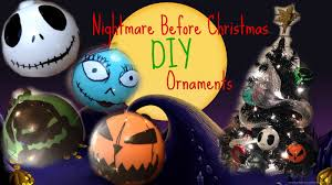 Nightmare Before Christmas Decorations by Nightmare Before Christmas Diy Ornaments Youtube