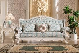 Design Of Wooden Sofa 2016 Simple Pl4895758 Living Room Set Hand Carved Furniture French 805