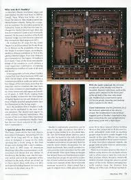 studley 1993 tool chest article by fine woodworking magazine