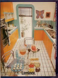 Fresh And Bright Glenh Tags Orange Interiors Kitchens Decorating 70s 1970s