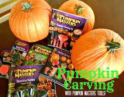 Pumpkin Masters Carving Kit by My 3 Monsters October 2013