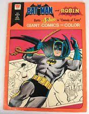 BATMAN Coloring Book Vintage