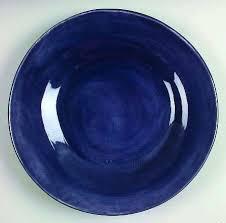 Pottery Barn Sausalito Dinnerware Pottery Barn China Cobalt Blue