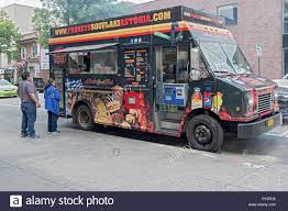 New York Street Food Truck Stock Photos & New York Street Food Truck ...