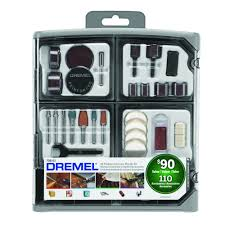 Dremel Pumpkin Carving Kit Canadian Tire by Dremel Rotary Tool Accessory Kit 108 Piece 2 Bonus Pieces 708
