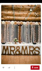 Wedding Goals Rustic Backdrop