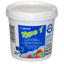 Acrylpro Ceramic Tile Adhesive Drying Time by Mapei Type 1 1 Qt Premium Floor And Wall Ceramic Tile Adhesive